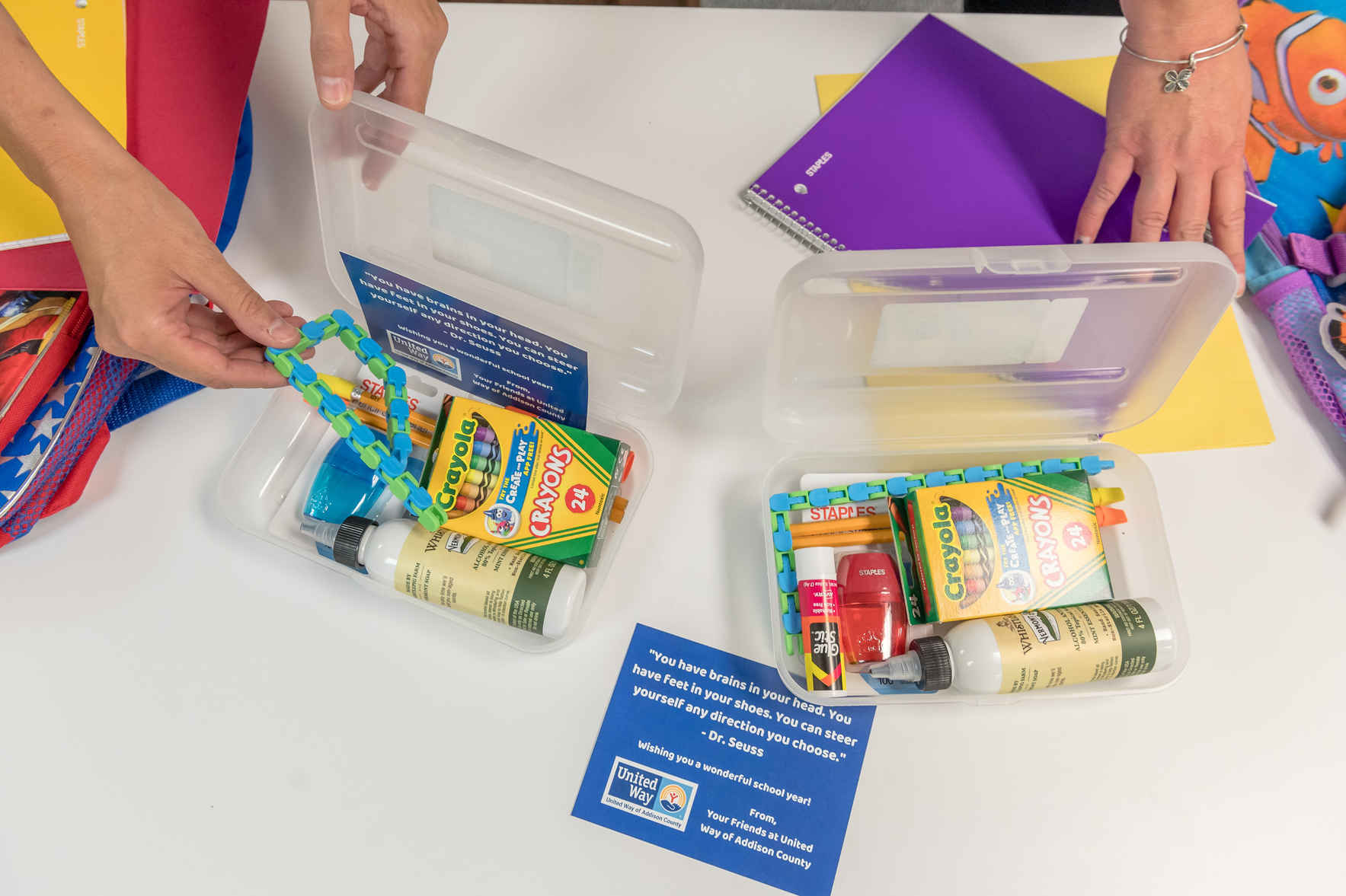 Donate to Provide Backpacks & School Supplies to Kids Who Need a Helping Hand image