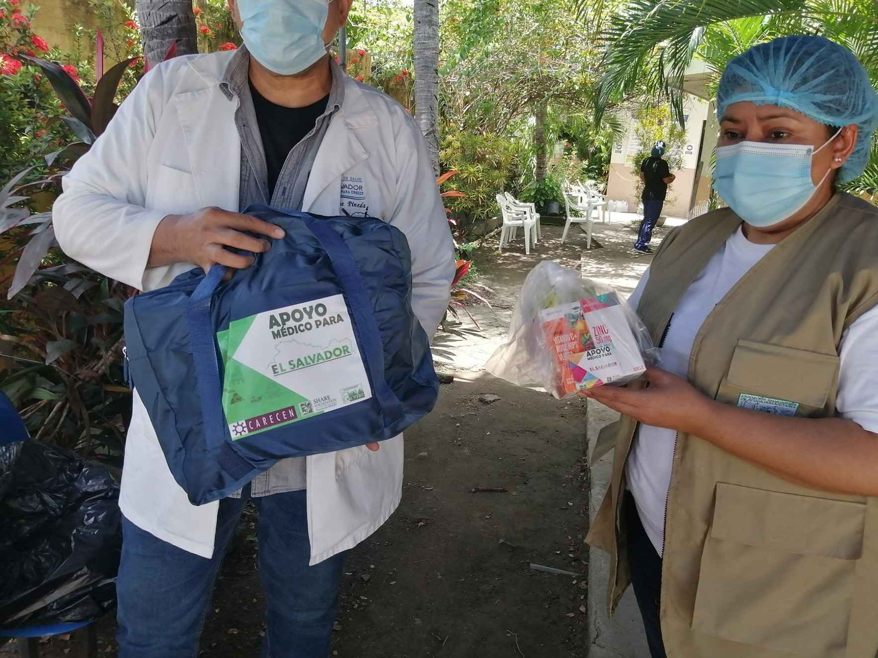 SUPPORT MEDICAL AID FOR EL SALVADOR image