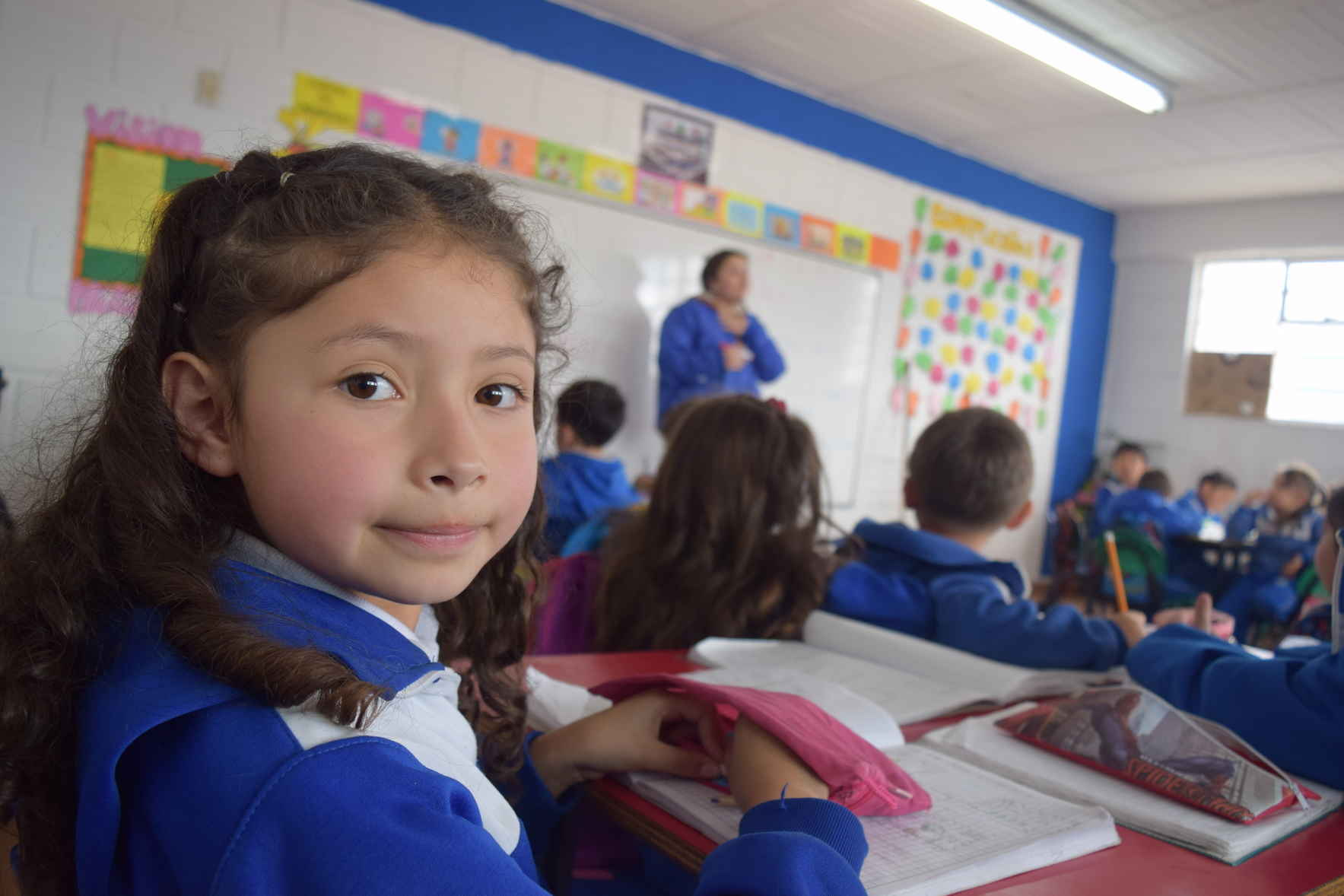 Provide the gift of education to a child image
