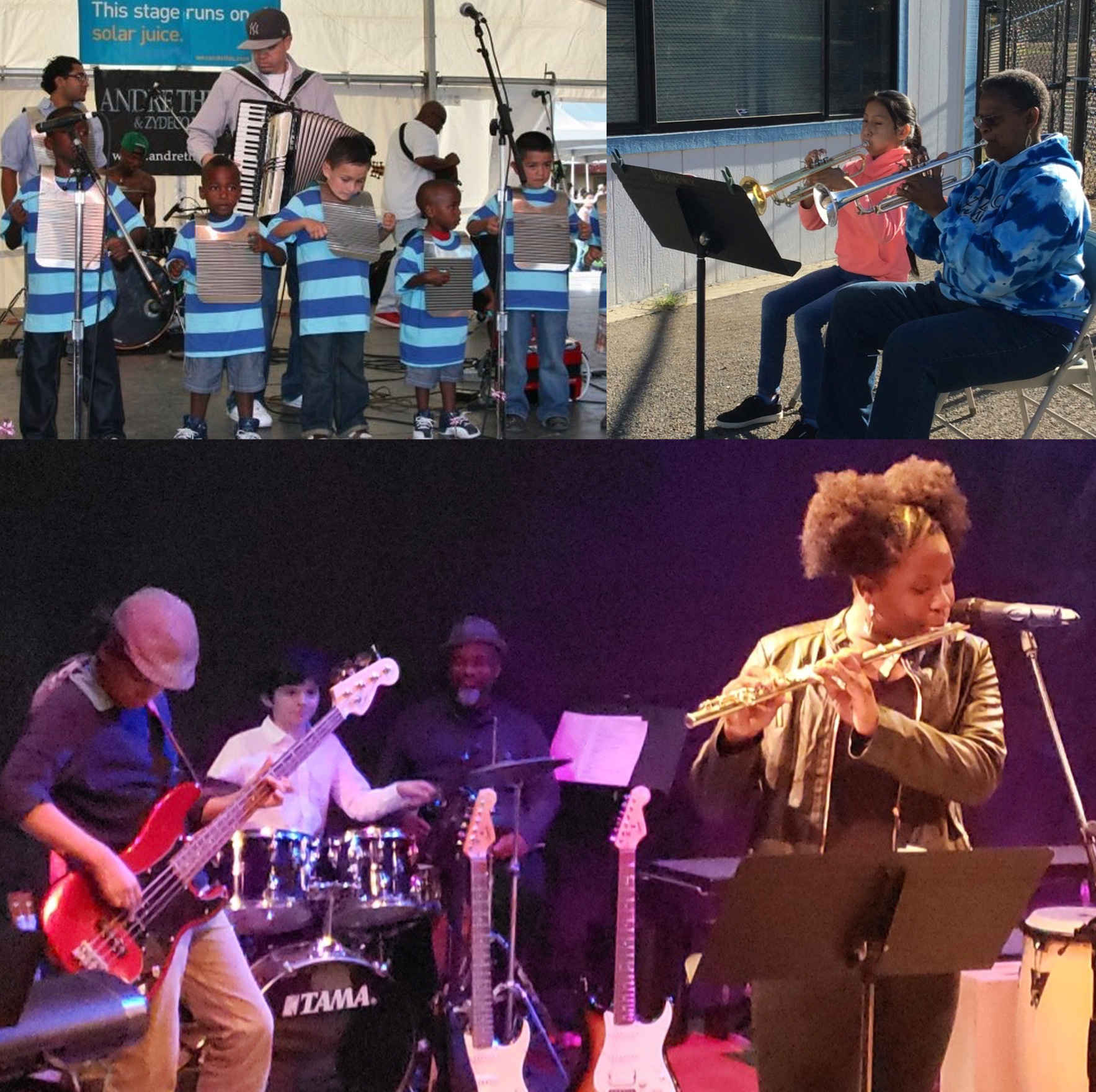 GIVE THE GIFT OF MUSIC TO MARIN CITY CHILDREN image