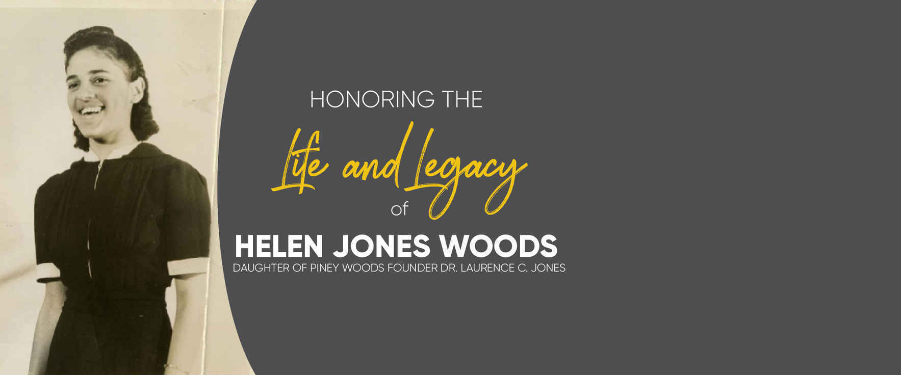 Commemorating the Life and Legacy of Helen Jones Woods image