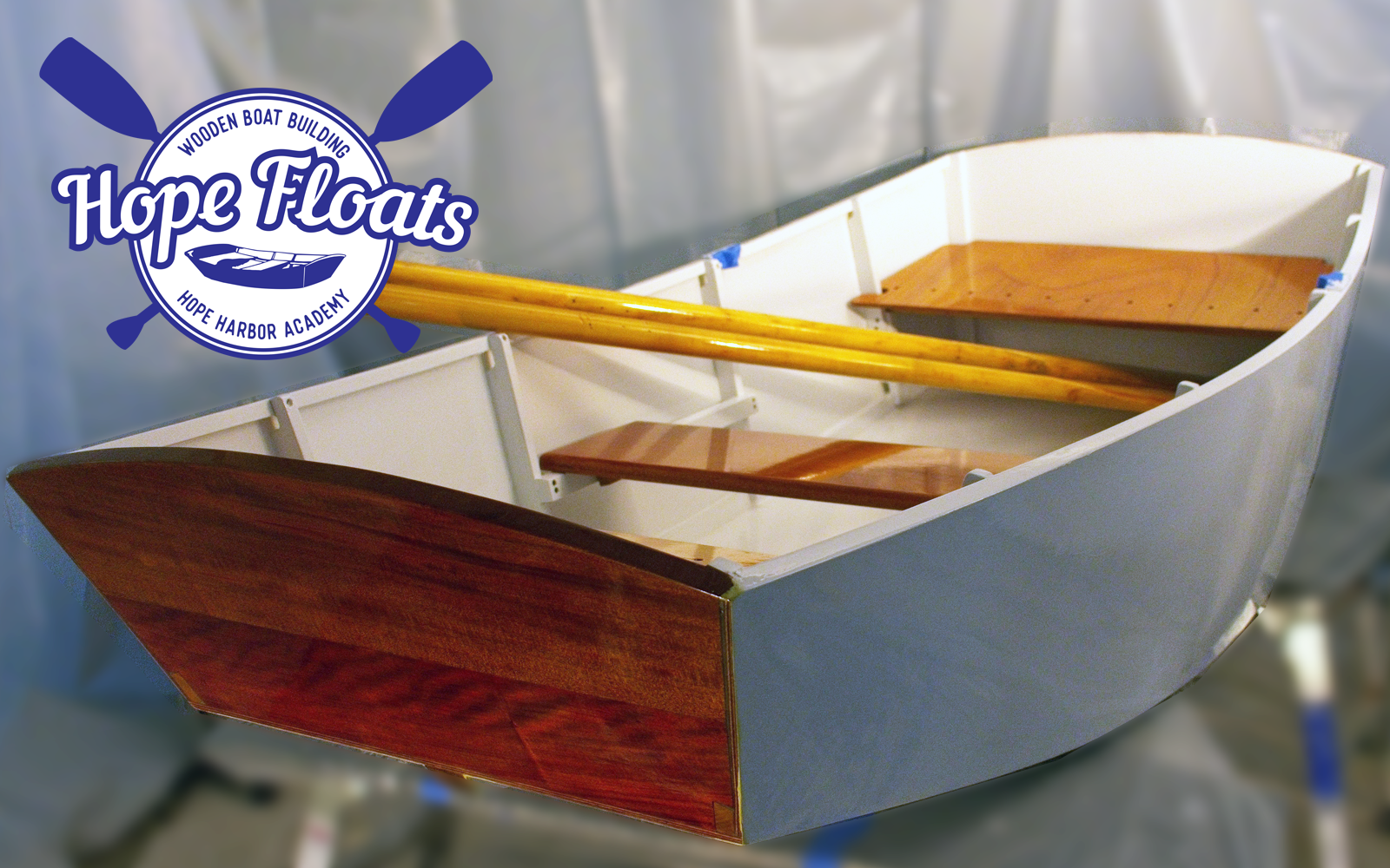 BUY YOUR TICKETS TODAY FOR YOUR CHANCE TO OWN THE HHA HOPE FLOATS BOAT! image