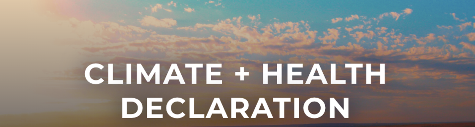 Support the Kansas Climate + Health Declaration image