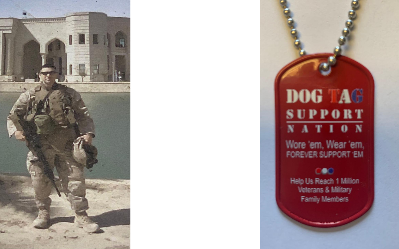 For $19 a Month Make a difference and help us Find Veterans & Fund Life Saving Programs image