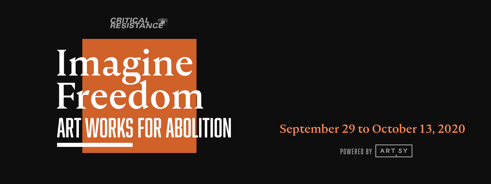 Imagine Freedom: Art Works for Abolition image