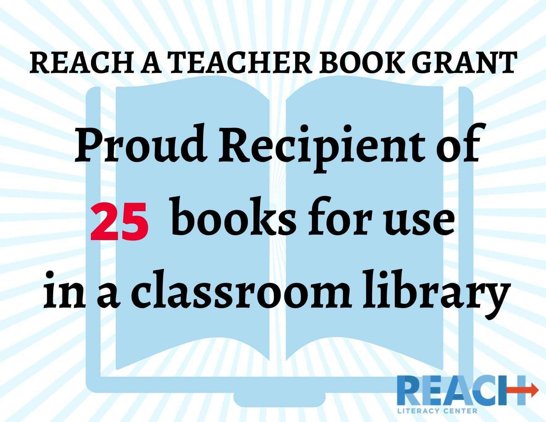 Let's get books to teachers in our community. image