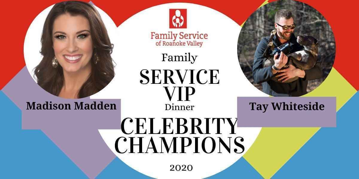 Join Madison Madden and Tay Whiteside in helping Family Service restore health and hope for individuals in the Roanoke Valley! image