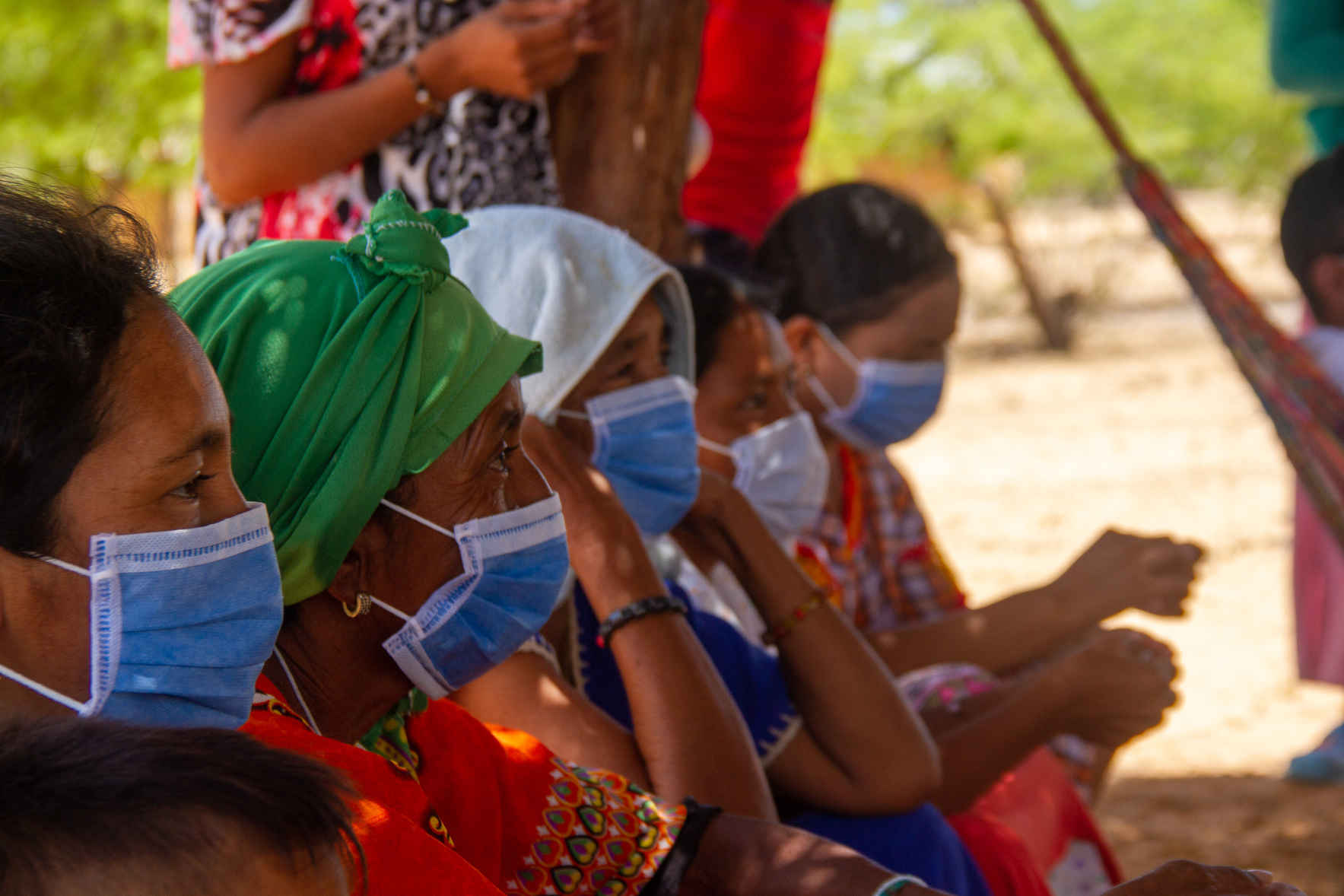 HELP US CONTINUE TO PREVENT THE SPREAD OF COVID-19 AMONG WAYUU PEOPLE. image