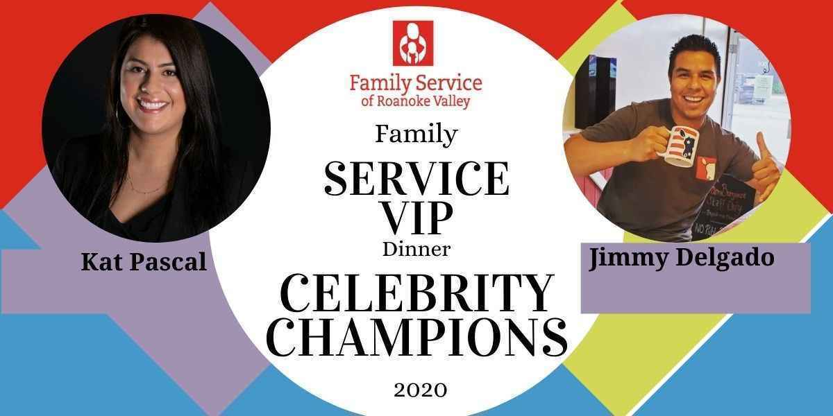 Join Kat and Jimmy in helping Family Service restore health and hope for individuals in the Roanoke Valley! image