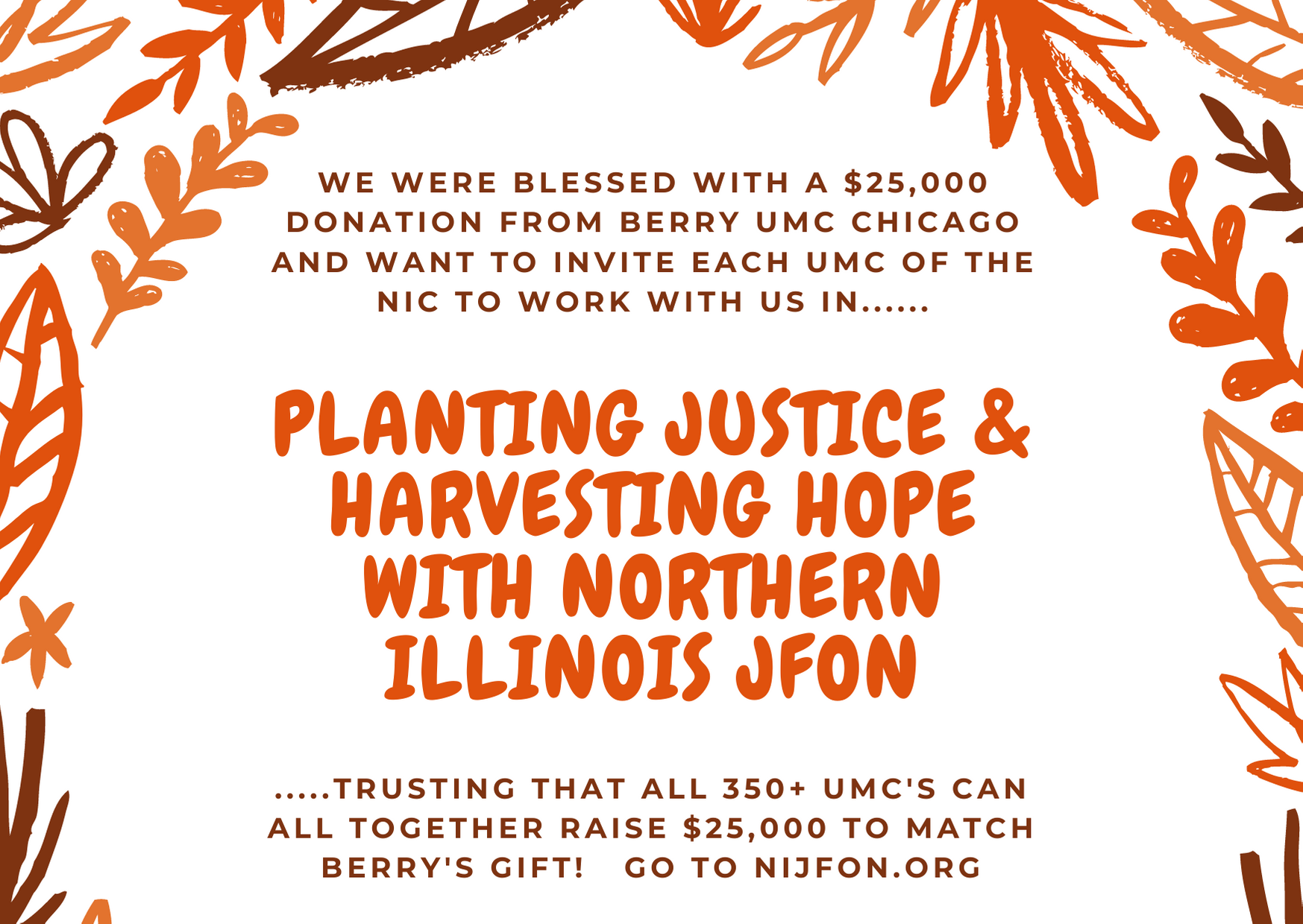 Planting Justice & Harvesting Hope in the NIC-UMC image