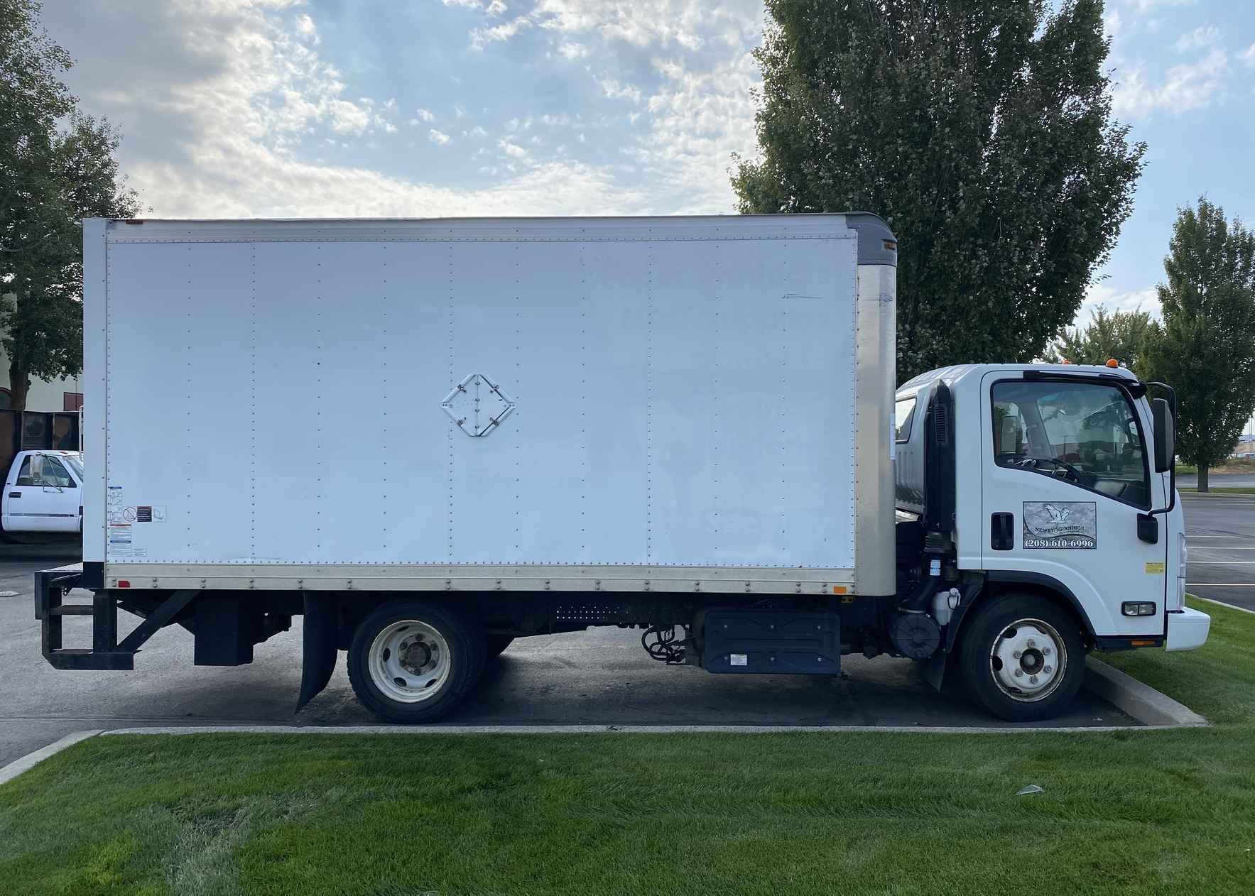 Thank you for helping us buy our new box truck! image