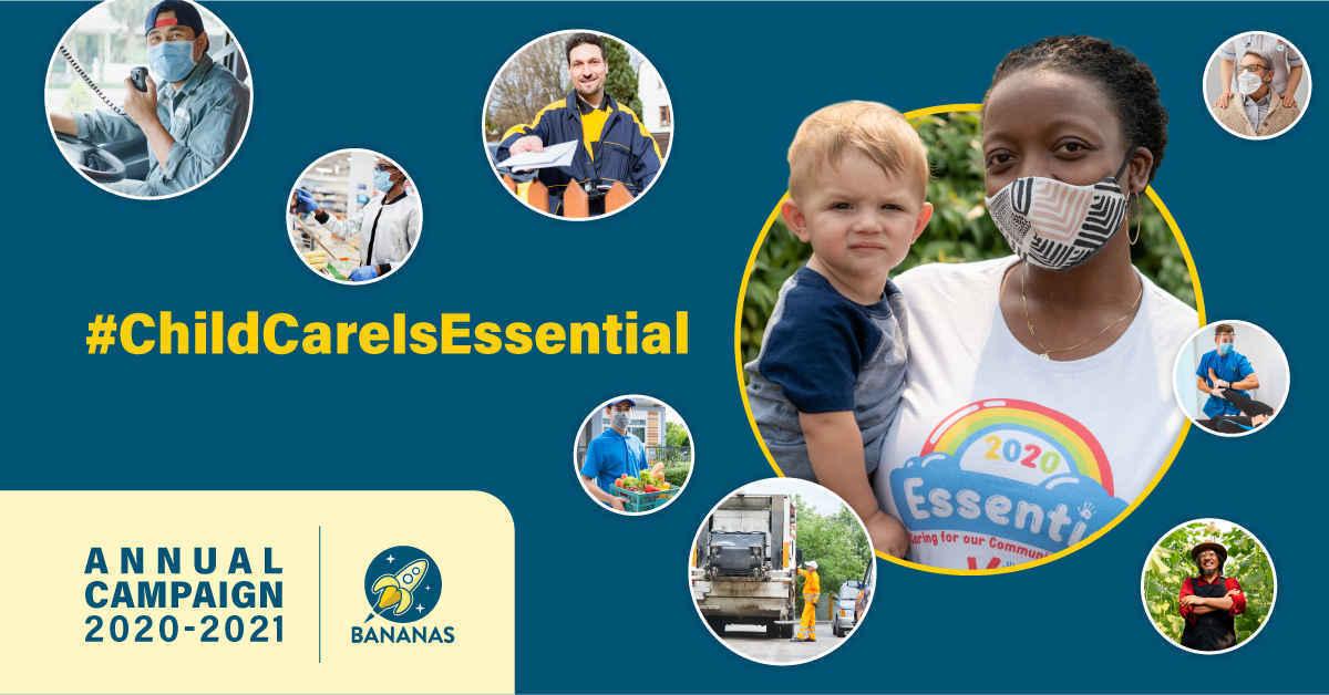 Prove #ChildCareIsEssential. Donate Now! image