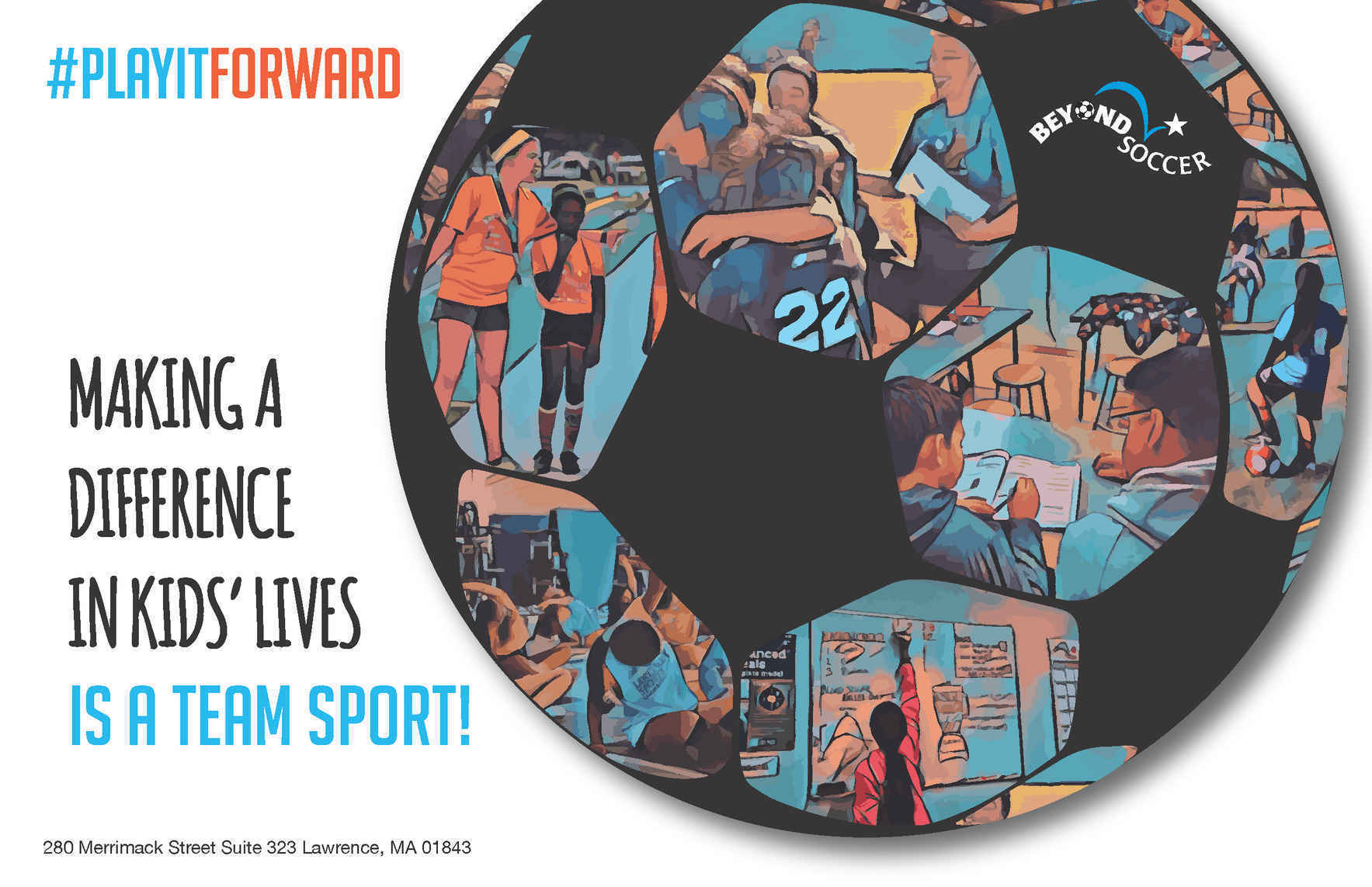 Making a Difference in Kids' Lives is a Team Sport! image