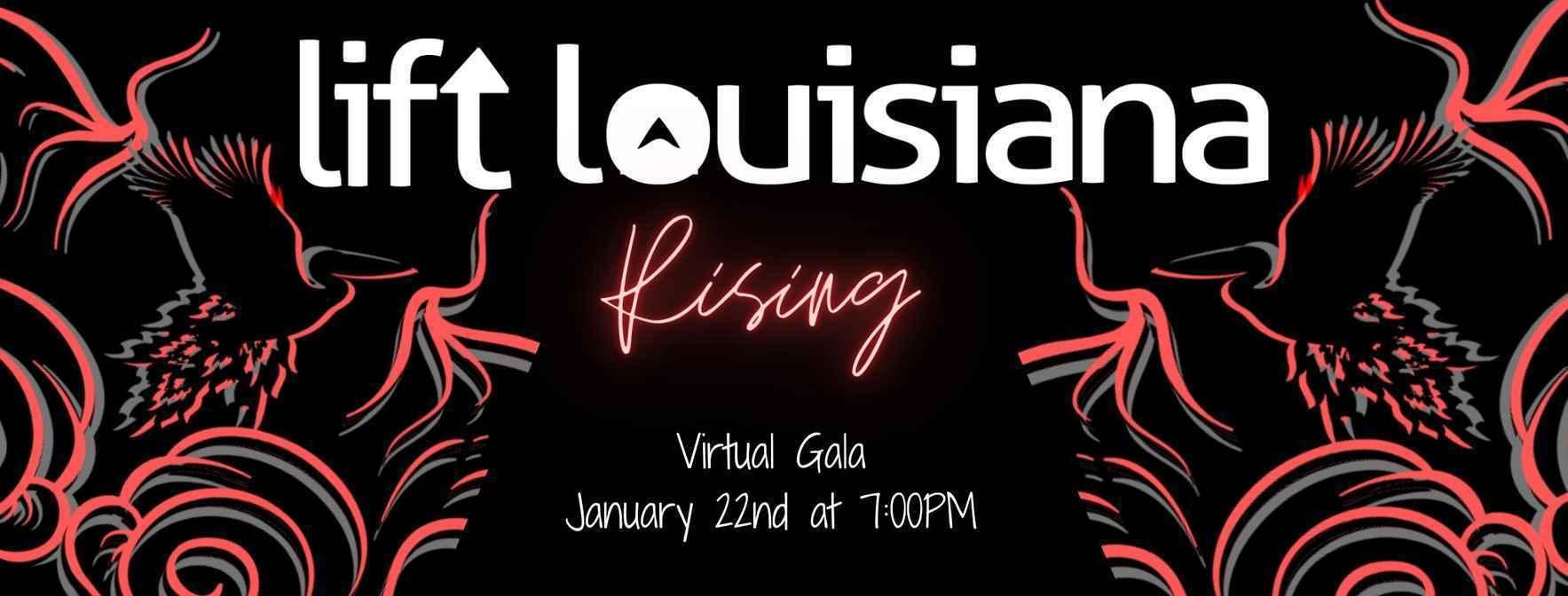 I want to sponsor Lift Louisiana's fundraiser: Rising! image