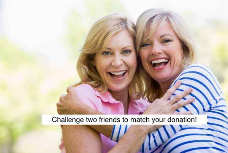 Make a donation and challenge 2 friends to match or raise you image