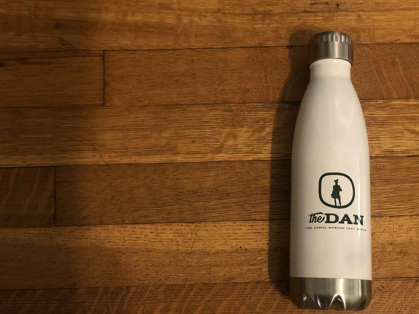 Support our trails with a Dan water bottle! image