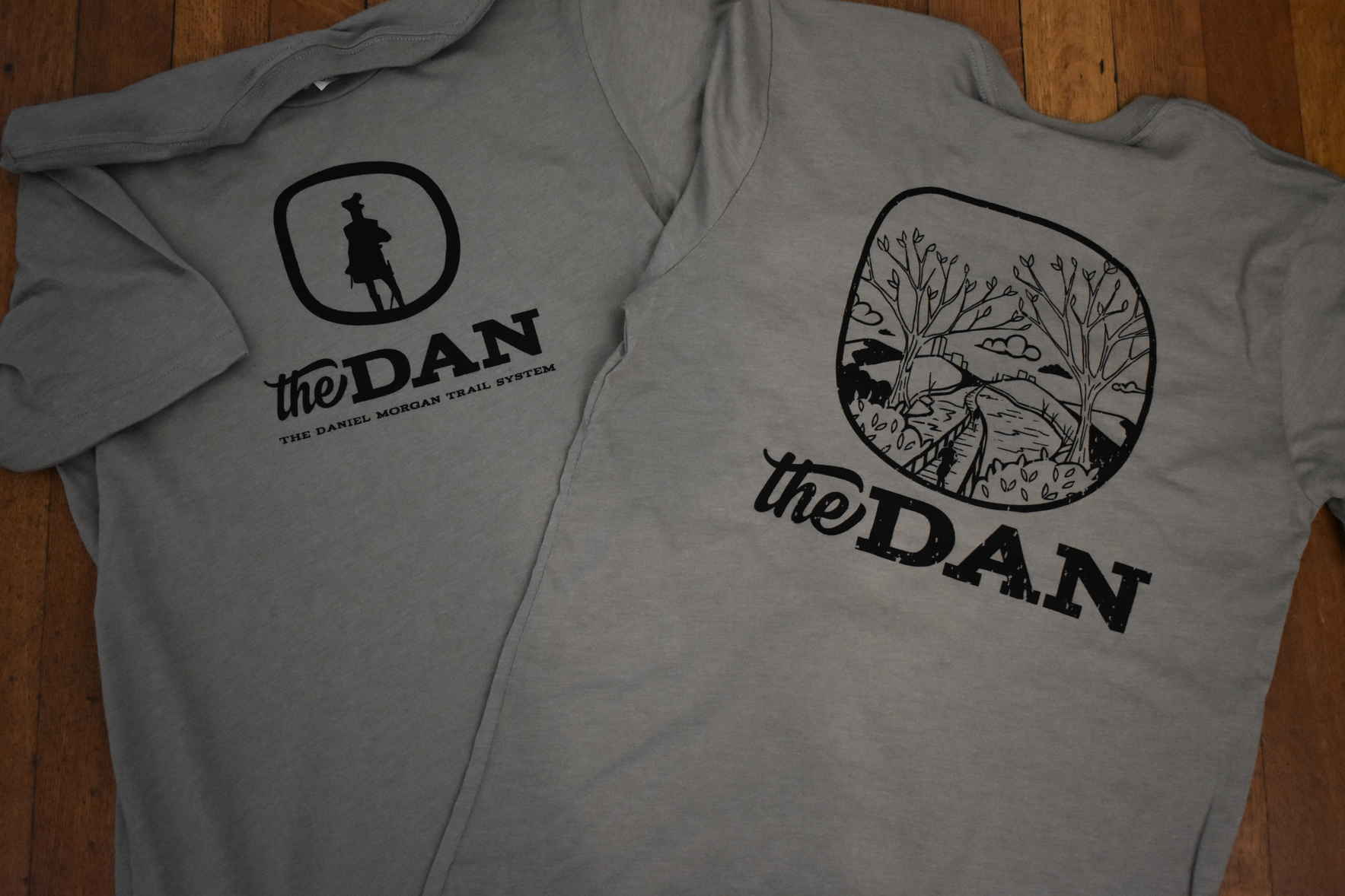 Support our trails with a Dan t-shirt! image