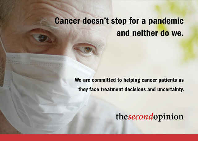 We are committed to helping cancer patients as they face treatment decisions and uncertainty image