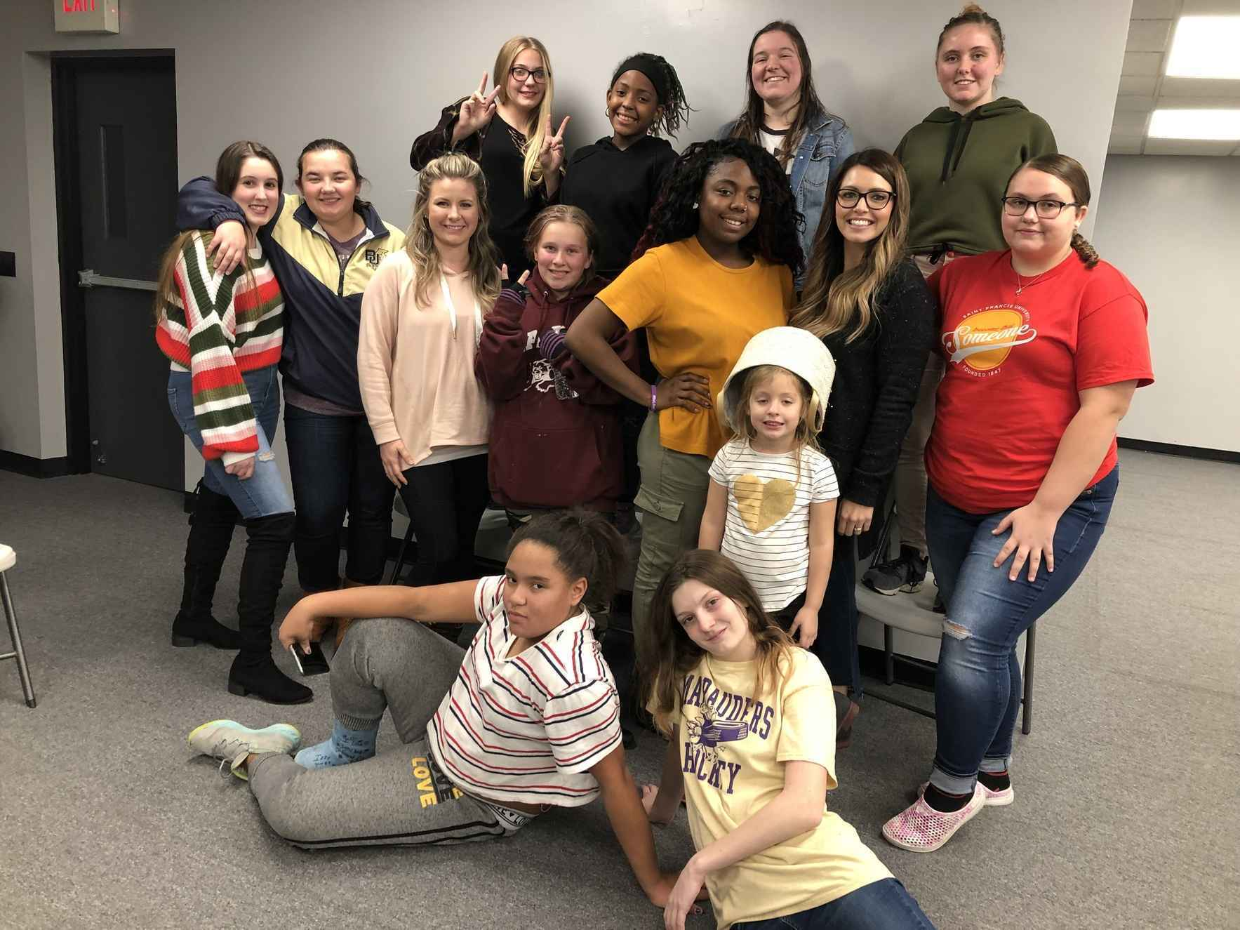 Help Our Teen Girls Make Meaningful Connections with their Peers and Mentors image