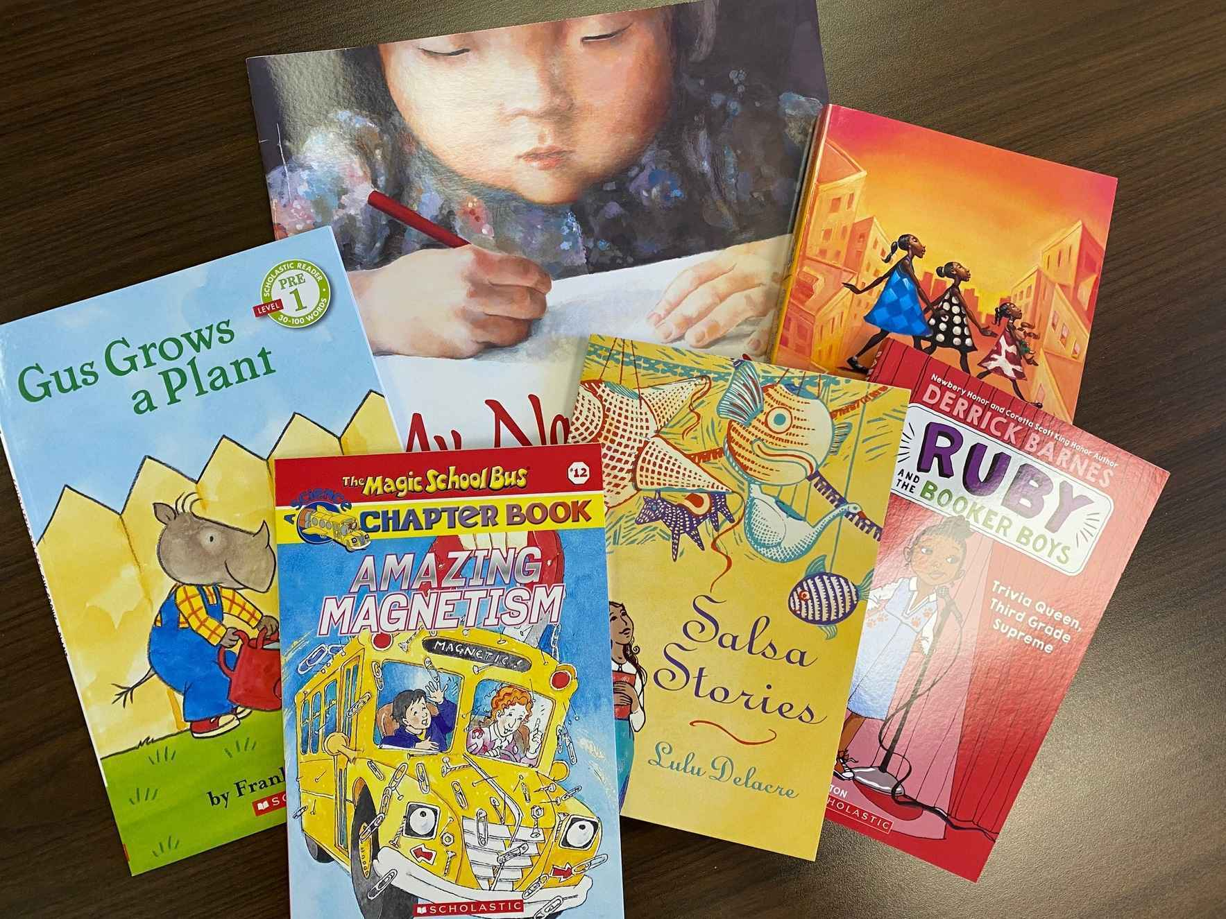 A $10 donation buys FIVE Wayne County students a book to take home!  image