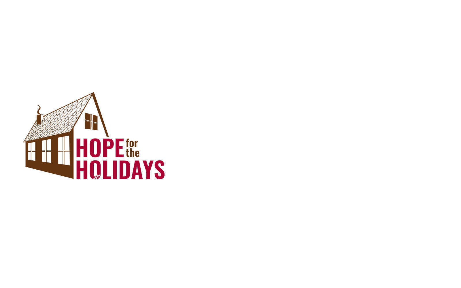 Help us provide HOPE for the Holidays image