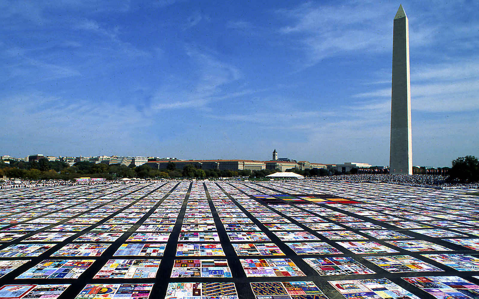Support the AIDS Memorial Quilt image