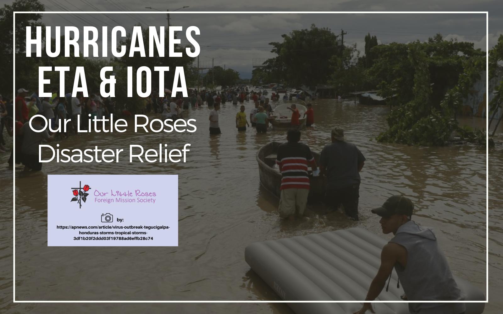 Our Little Roses Hurricanes Eta & Iota Relief image