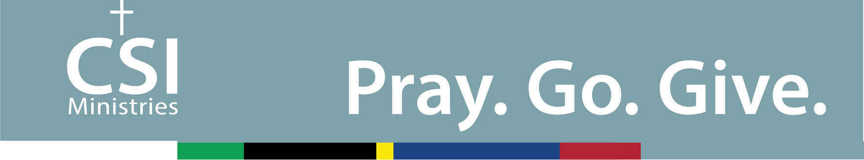 Pray. Go. Give. image