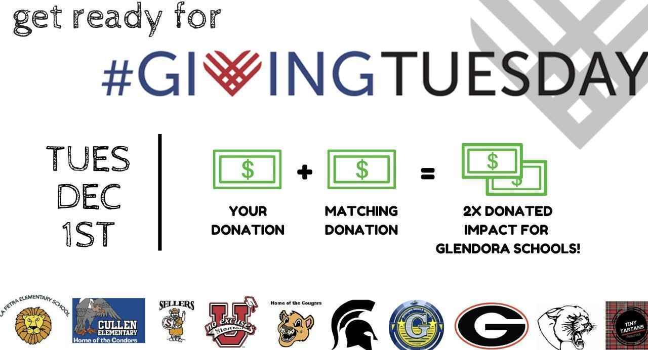 Please Give on #GivingTuesday and DOUBLE your impact! image
