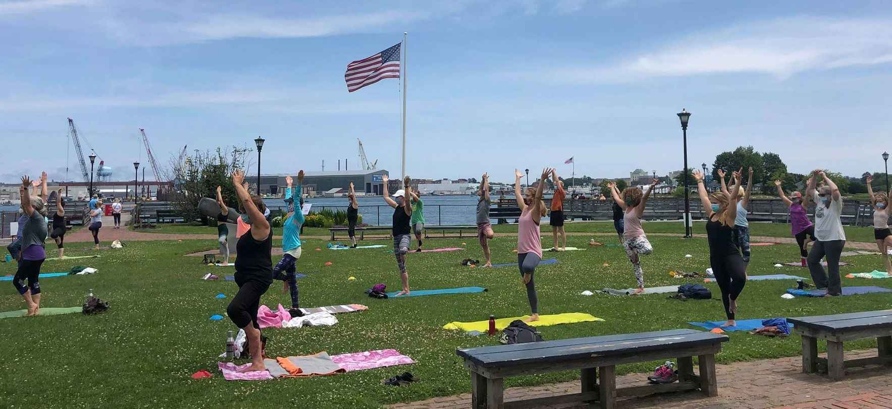 Please donate to provide the healing power of yoga to those in need! image