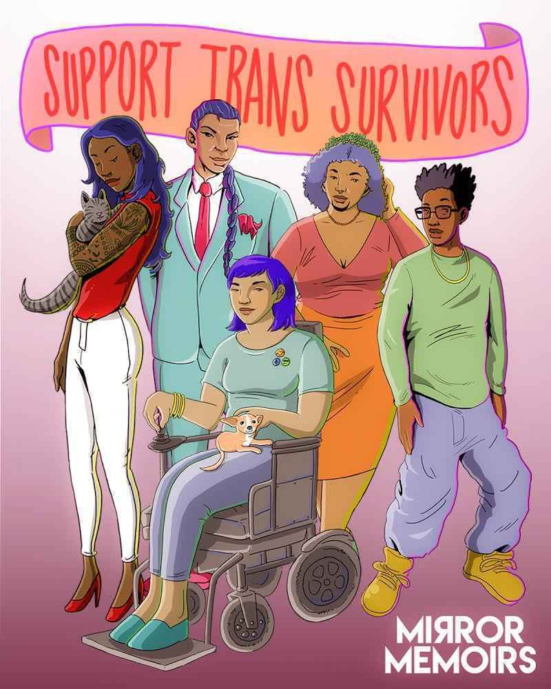Support Two Spirit, Transgender, Non-Binary + Intersex BIPOC Survivors of Child Sexual Abuse! image