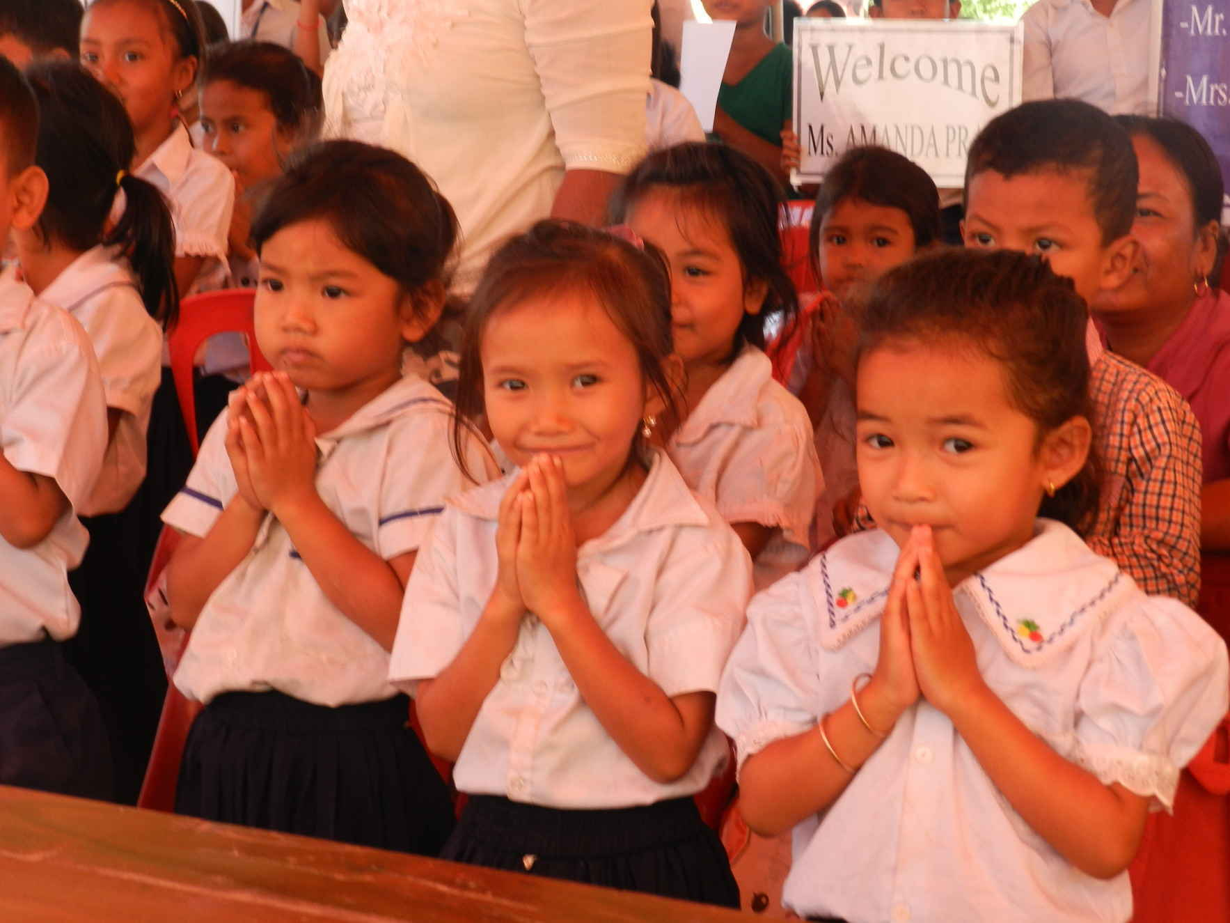 Together we build schools for the impoverished children of Cambodia image