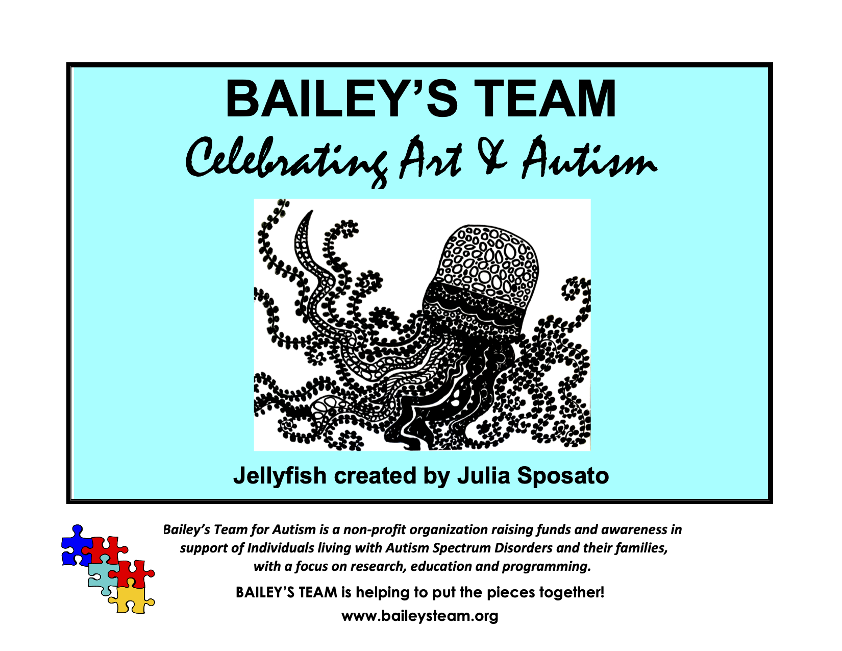 Buy our beautiful 2021 Calendar and support individuals living with autism and their families! image