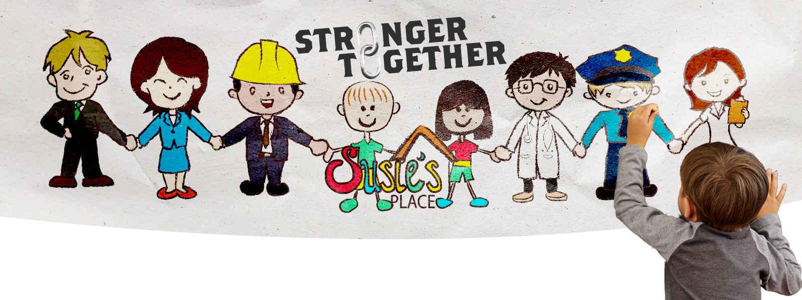 We're stronger together image