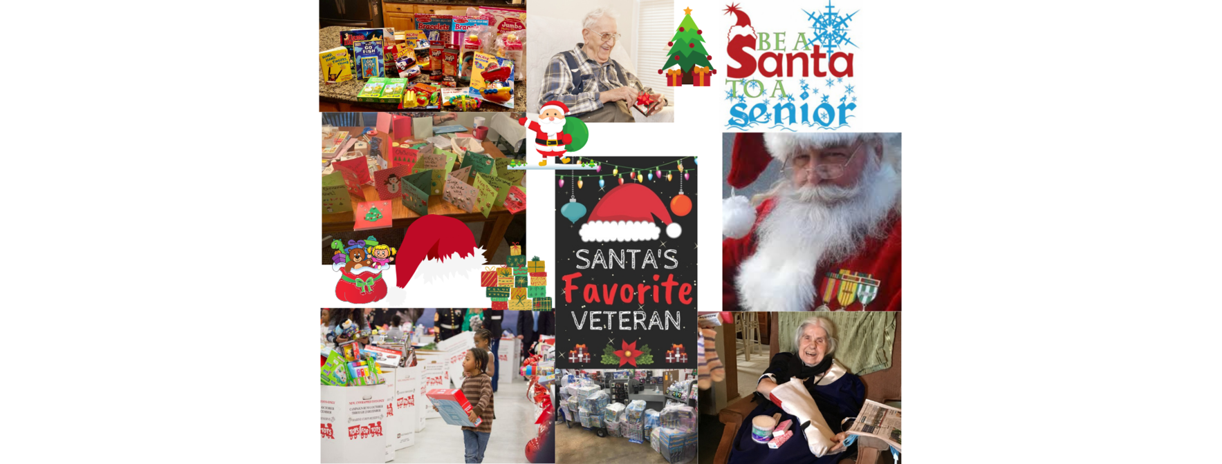 Please Help Us Spread Some Joy to Seniors, Veterans, & Children in Need image
