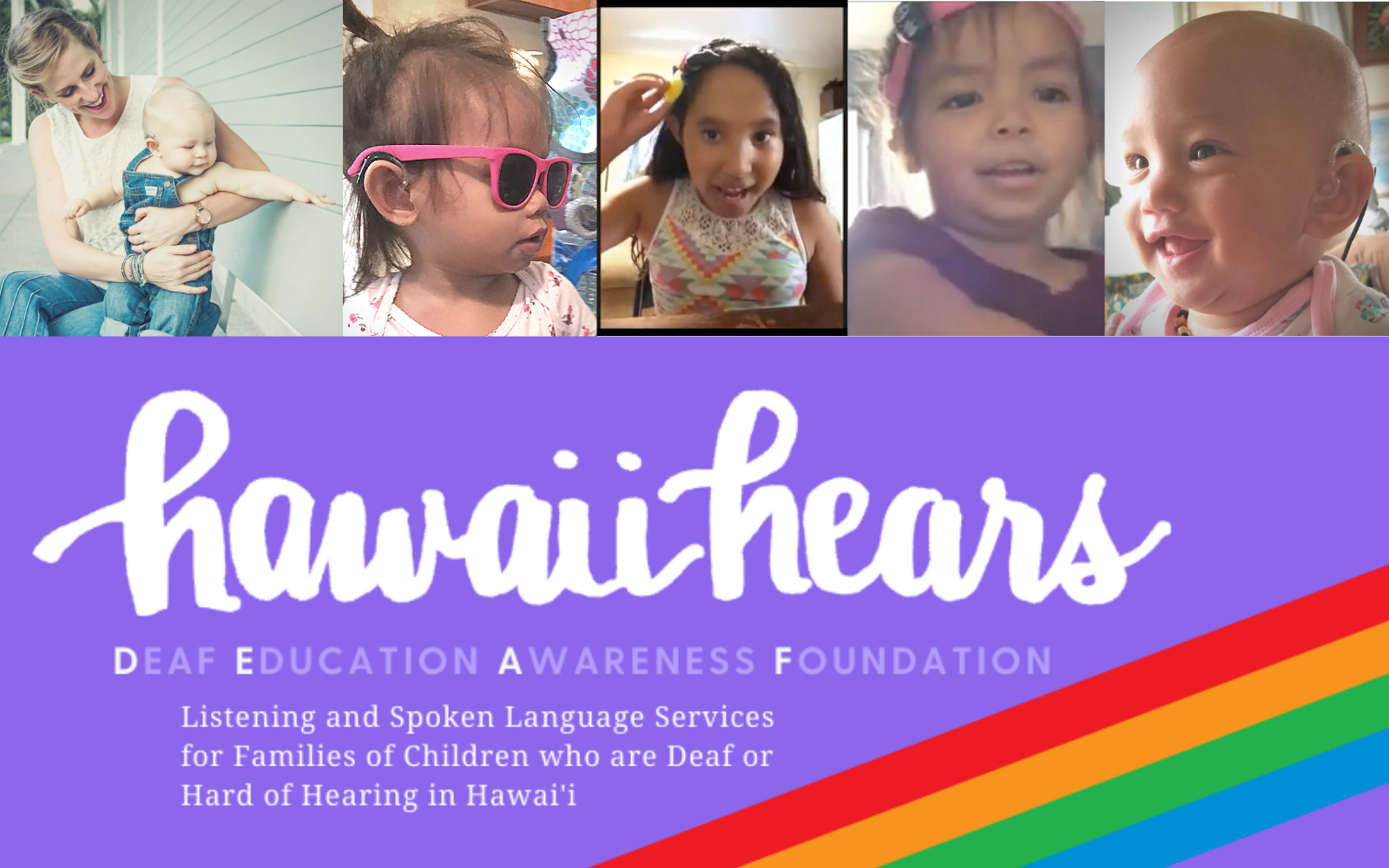 Make a difference in the life of deaf children and their families in Hawaii image