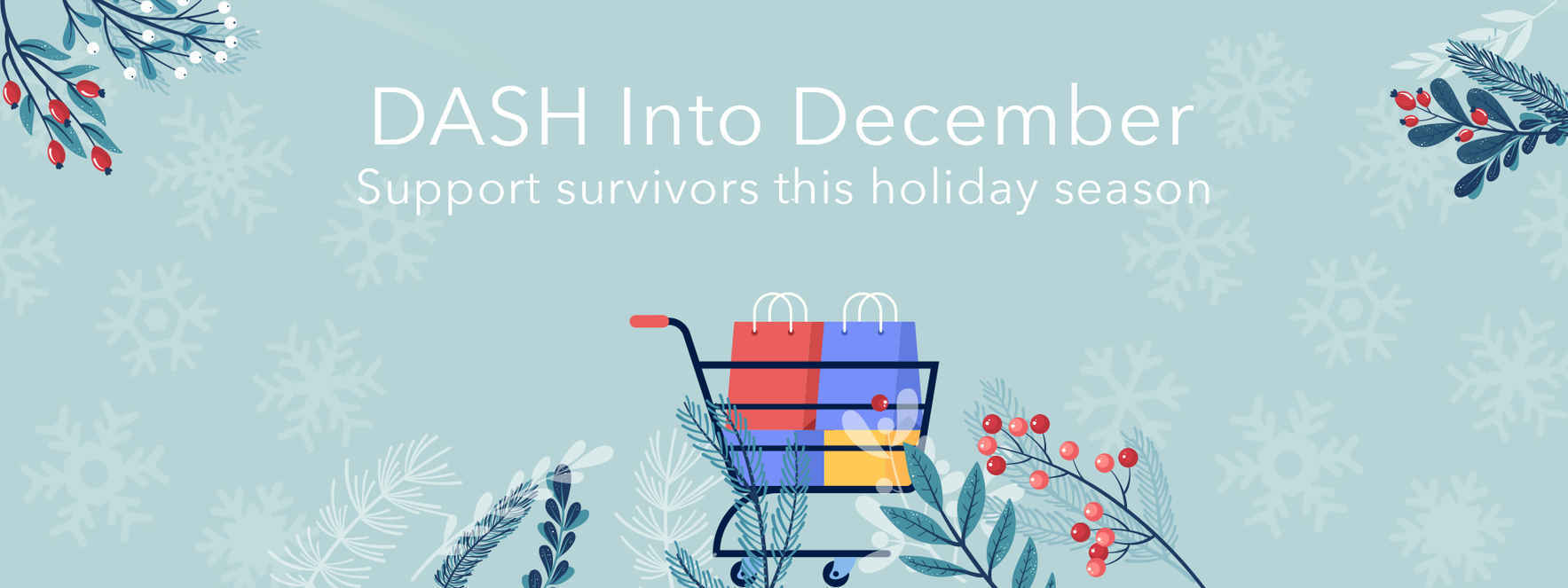 Give to DASH today to secure the safety of survivors and their families image