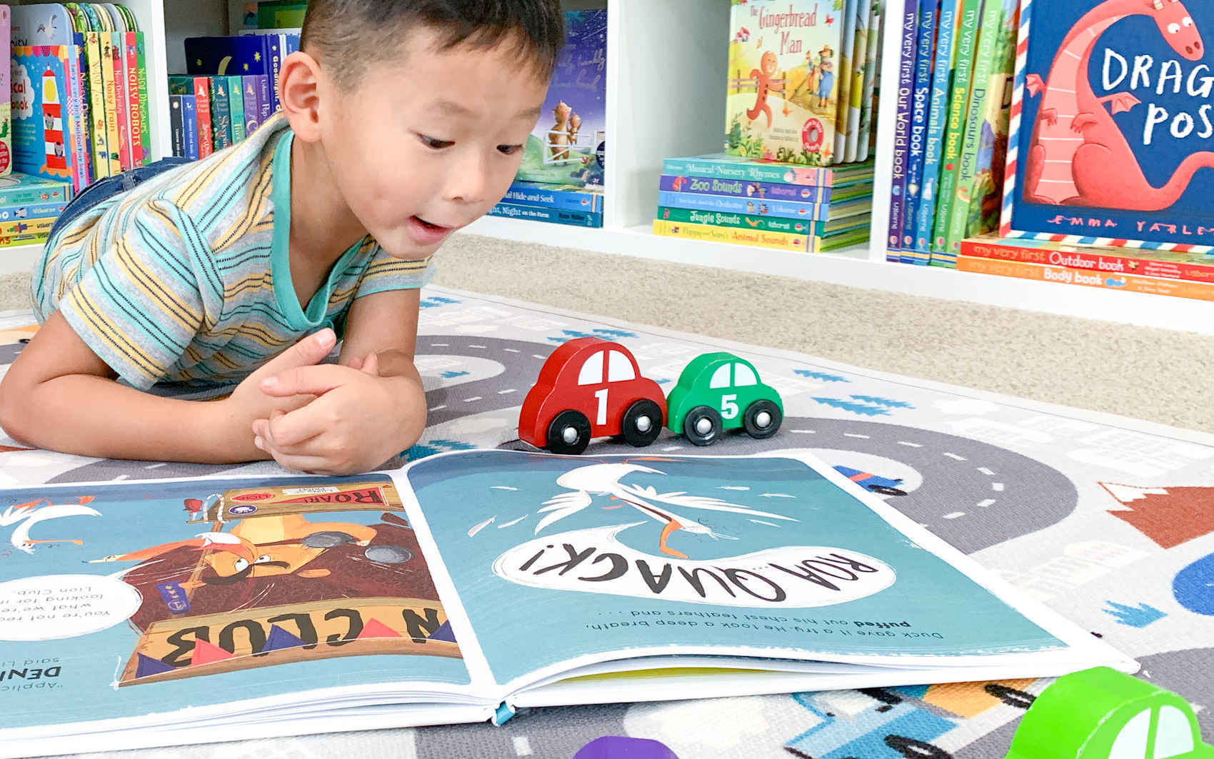 Deliver a brand-new book to a child in need. image