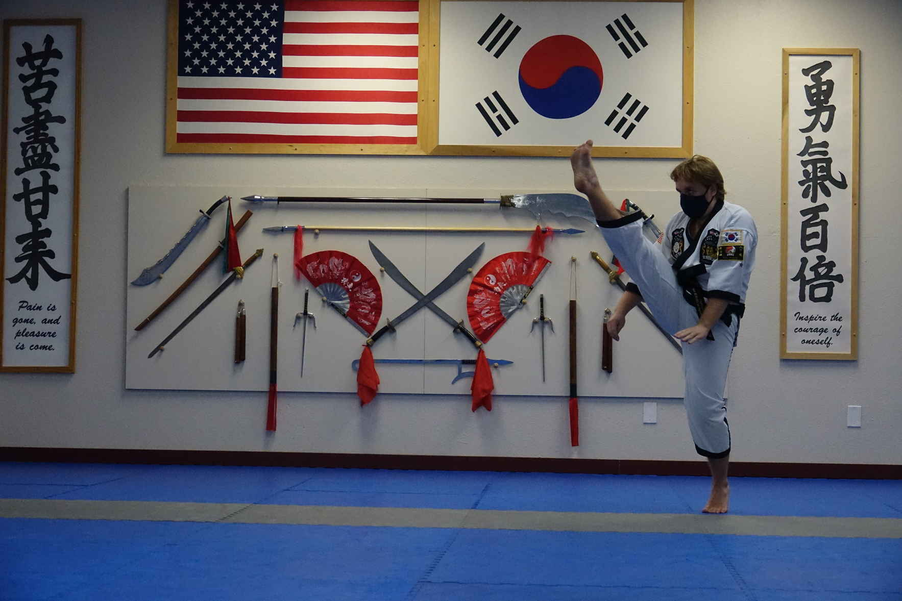 Donate now to support Health and Wellness through Traditional Martial Arts image