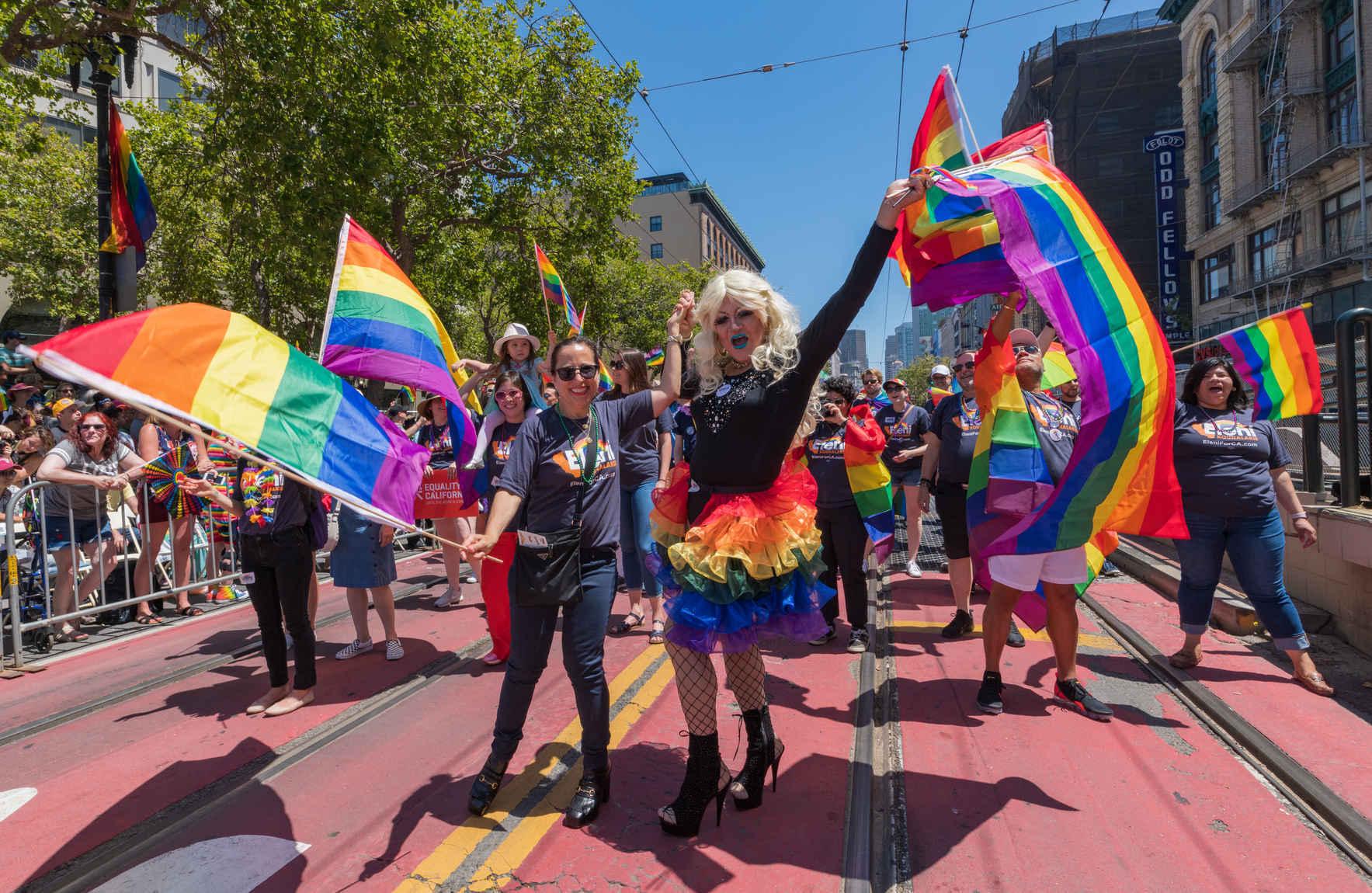 Support San Francisco LGBT Pride Parade & Celebration today! image