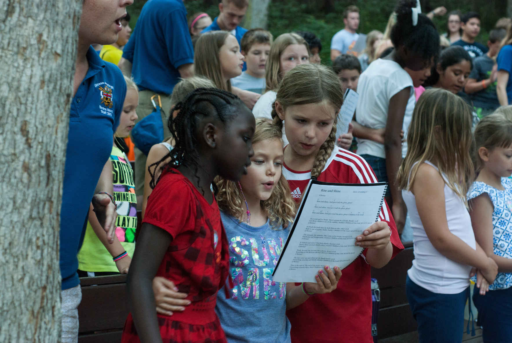 Shrine Mont Camps are often the place where campers know God best. image