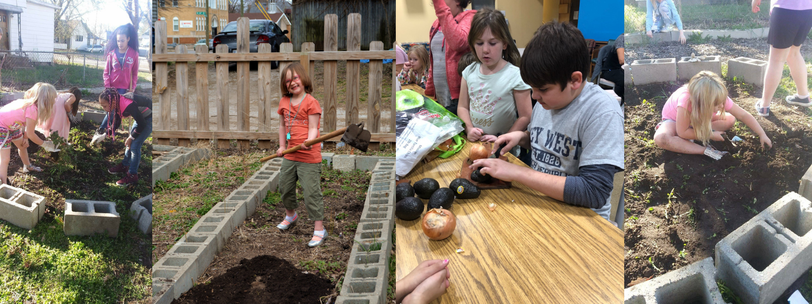 Give today to our spring gardening campaign image