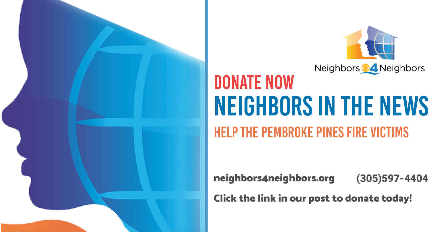 Donate Today to Help Pembroke Pines Fire Victims! image
