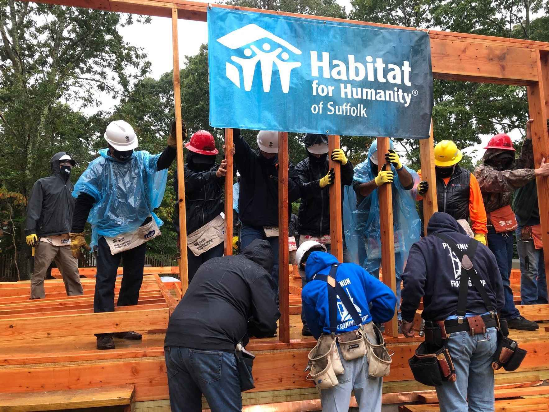 Your financial support will help families continue building with Habitat in Suffolk County. image