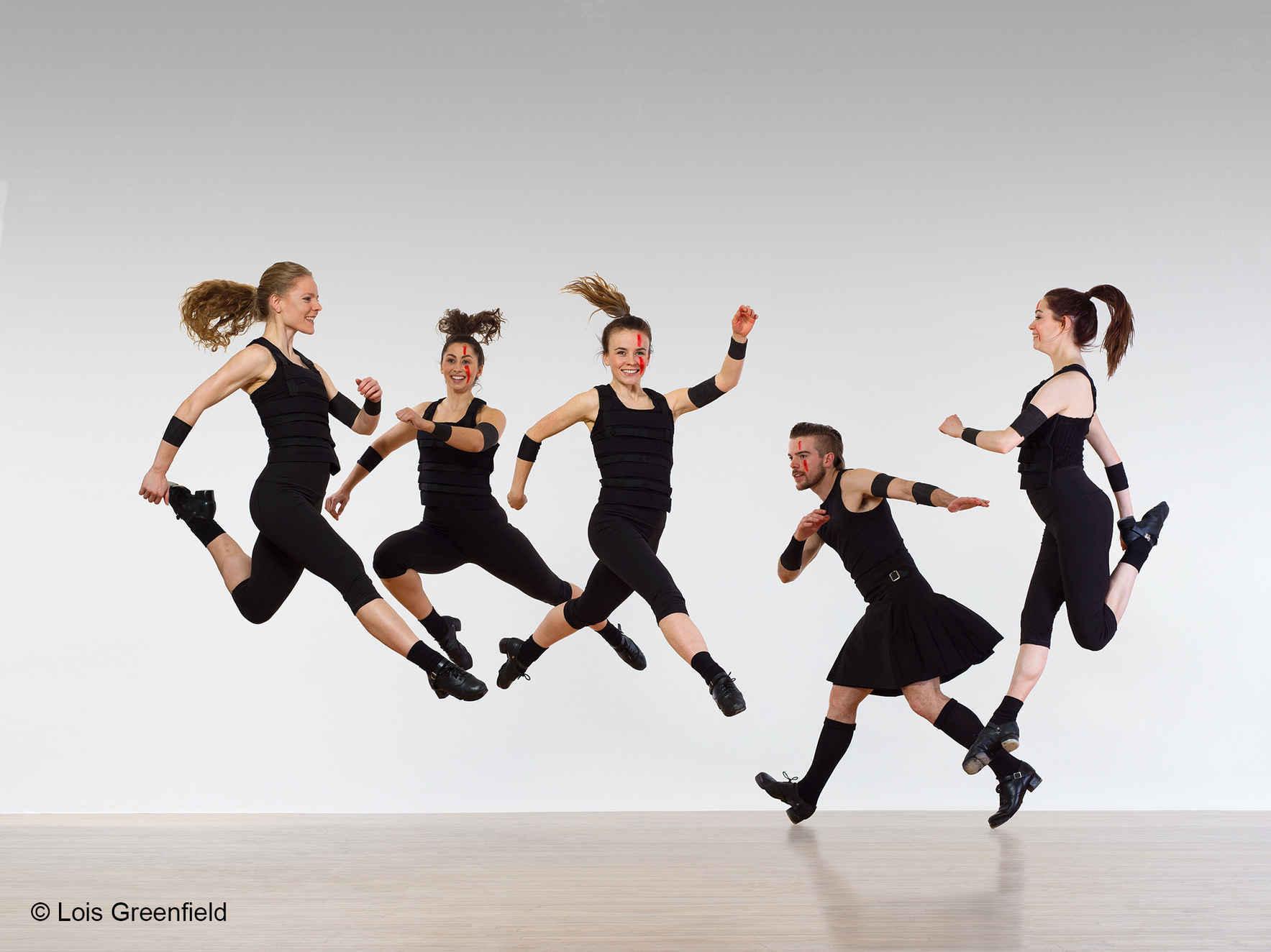 Feel the power of the Trinity Irish Dance Company! image
