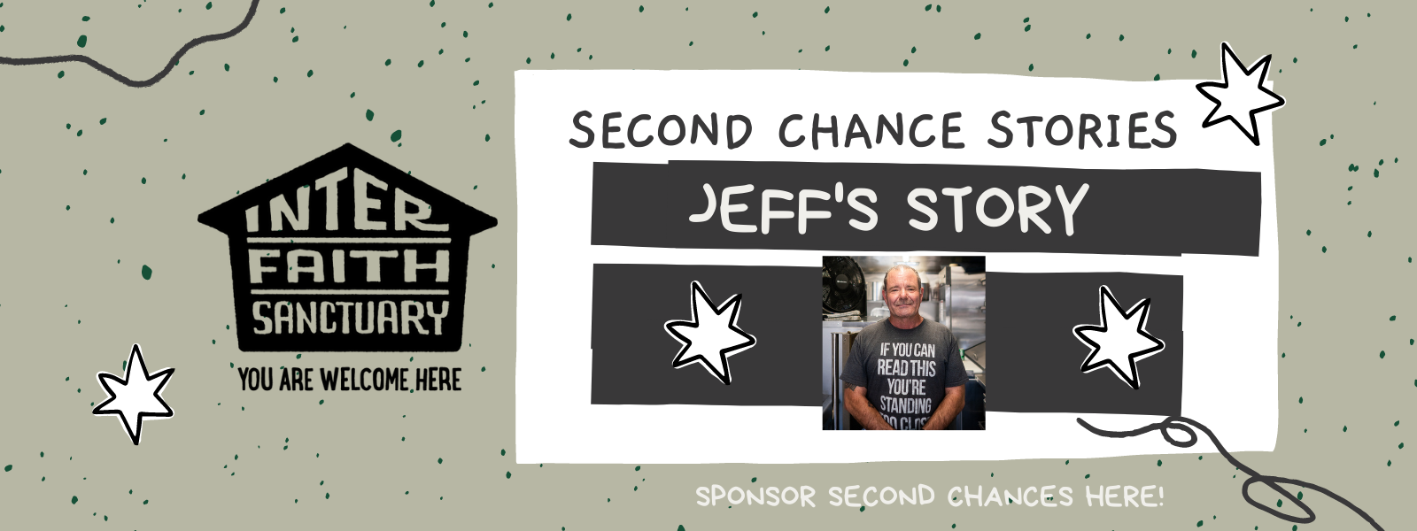 Become a SECOND CHANCE sponsor today! image