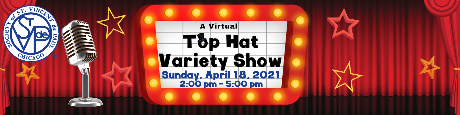 Support SVdP Chicago's Top Hat Variety Show image