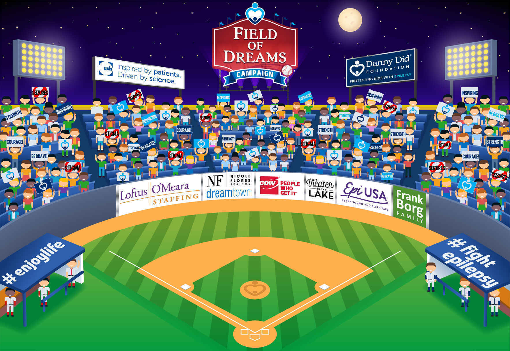 Let's Fill The Stands For Kids With Epilepsy image
