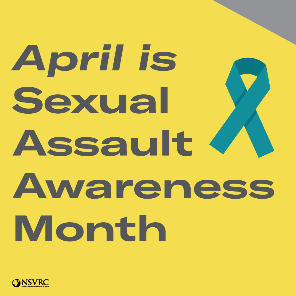 April is Sexual Assault Awareness Month image