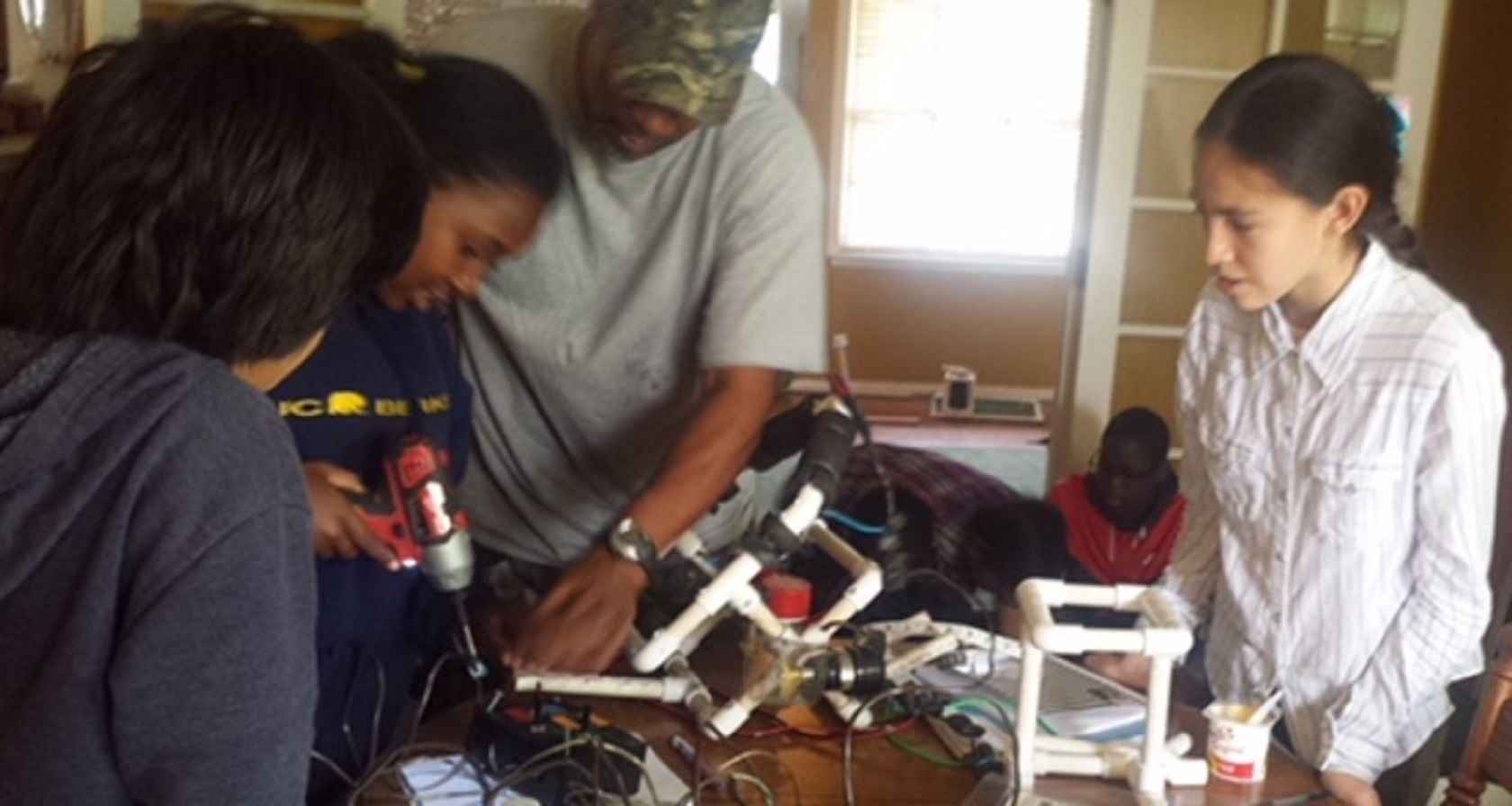 Send an Underprivileged Student to Engineer Summer Camp! image